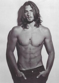 Image result for sexy long hair guys