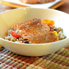 Mexican Spiced Salmon - Feed Your Soul Too