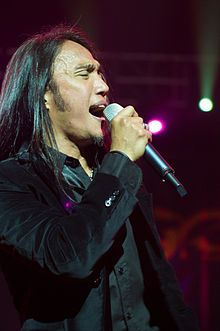 Arnel Pineda - new singer for Journey from the Philippines. Incredible story. as much as I loved Steve Perry as the frontman, Arnel has really grown on me.