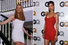 Rihanna Wears Cher Horowitz's Iconic Calvin Klein Dress
