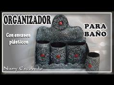 ORGANIZADOR PARA EL BAÑO - YouTube