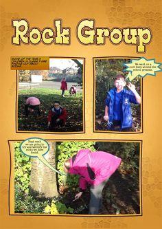 Identifying Rocks with Comic Life