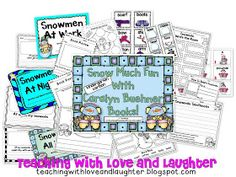 Teaching With Love and Laughter: Snowmen At…