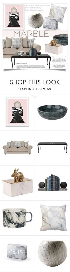 """""""Marble Home Decor"""" by clotheshawg ❤ liked on Polyvore featuring interior, interiors, interior design, home, home decor, interior decorating, Gingko Electronics, Cappellini and marblehome"""
