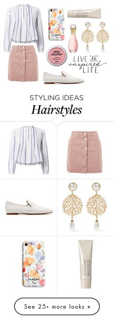 """""""Untitled #424"""" by bhgrace on Polyvore featuring ADZif, Topshop, The Row, A.L.C., Balenciaga, Christian Dior and Laura Mercier"""