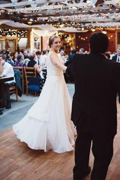 Virginia Farm Wedding First Dance 1 275x413 Rustic Farm Wedding Reception in Virginia: Libby + Joe