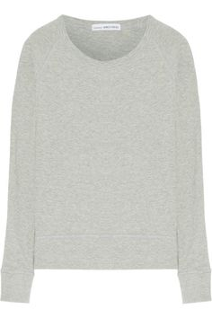 James Perse | French cotton-terry sweatshirt | NET-A-PORTER.COM