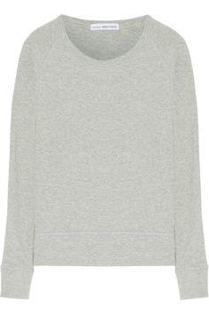 James Perse | French cotton-terry sweatshirt | NET-A-PORTER.COM