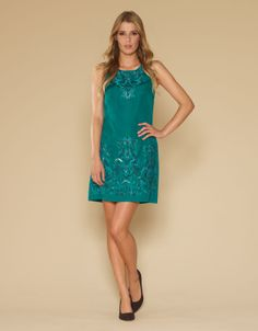 Maya Embellished Dress | Blue | Monsoon nice!