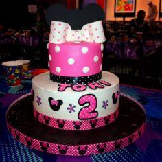 Mini Mouse birthday cake :)