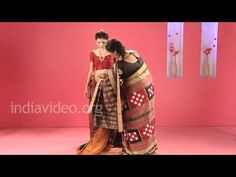 108 ways to drape a saree!