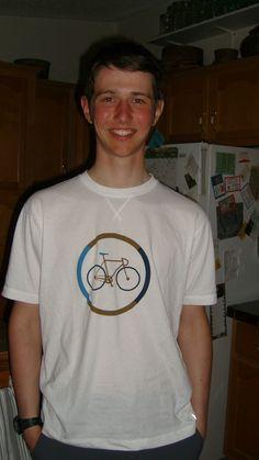 TransAM cyclist, lone cyclist, German, over-nighting, holiday