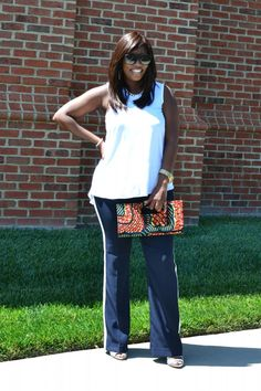 Kenya L Fashion Blog: How to Style Red, White and Blue