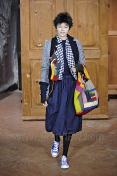Crochet Bag by Daniela Gregis - Ready-to-Wear - Runway Collection - Women Fall / Winter 2011 - for inspiration only