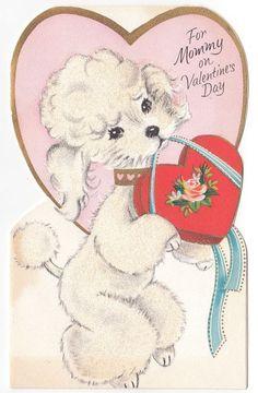 ValentineS Day Card Poodle  Bing Images  Poodles