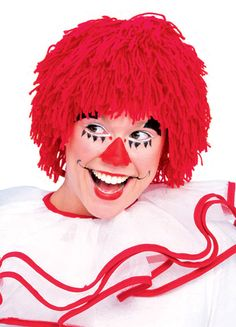 Rag Doll Boy Red Wig