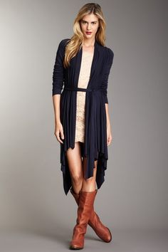 Ideas for Fall. I would put tights or leggings with this.