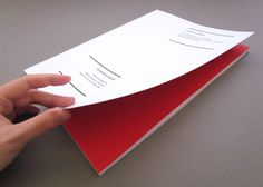 Layout of my Thesis by Sára Ulrich, via Behance