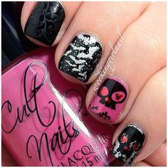 halloween by workinggirlnails #nail #nails #nailart