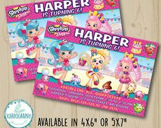 Lego Friends Invitation. Available in 4x6 and 5x7 by Kardography