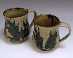 Mugs from Butterfield Pottery
