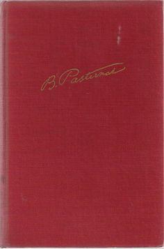Doctor Zhivago - Boris Pasternak - Vintage Book Classic Novel Red - 1959 -
