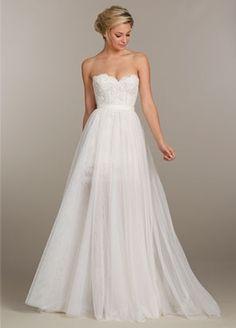 Tara Keely Sweetheart A-Line Gown in Alencon Lace | KleinfeldBridal.com