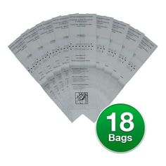Replacement Vacuum Bag For Dirt Devil 3700147001 / 121SW 6-Pack Replacement Vacuum Bag