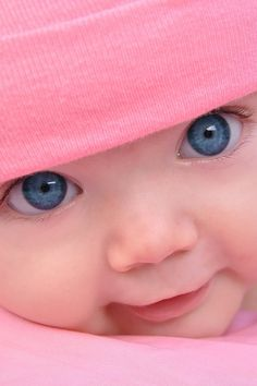 Beautiful Blue Eyed Baby