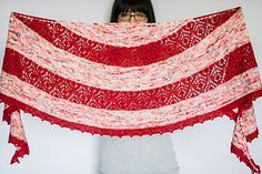 Ravelry: Tokerau Shawl pattern by Francoise Danoy                                                                                                                                                                                 More