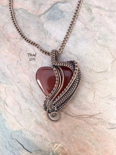 A personal favorite from my Etsy shop https://www.etsy.com/listing/260689373/reiki-infused-carnelian-heart-copper