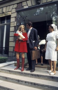 Jane Fonda, Actress and Activist, Is a Style Chameleon - Jane Fonda and Roger Vadim in 1968-Wmag