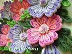 Волшебная сказка про квиллинг: Цветы