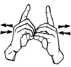 A sign language is a complete and comprehensive language of its own. It is not just some gestures which are random and used to convey a meaning. Sign language also has a set of grammar rules to go by. This language is mainly used by p Sign Language Chart, Sign Language Phrases, Sign Language Alphabet, Sign Language Interpreter, Learn Sign Language, Learn To Sign, British Sign Language, Spanish Language, French Language