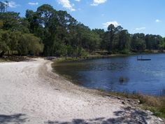 Lake Waldena-- where we spend our winters --in The Ocala National Forest, Florida