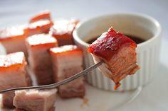 Krckava, sočna, pečena sveža slanina