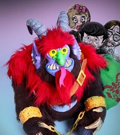 Warpo Brings Krampus Plush Toy to Christmas