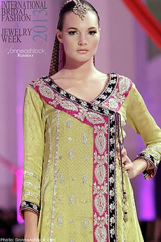 *maybe in different color...?Sana Abbas Collection at International Bridal Fashion and Jewelry Week 2013