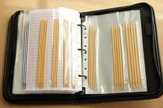 A Common Thread — DIY Knitting Needle Binder Case After 10 years of...