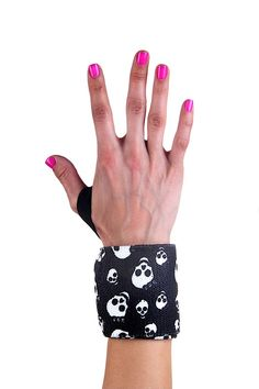 Our wrist wraps go above and beyond the call of duty! These functional and fashionable wraps give you that extra edge to take your workout to a new level. From the weight room to CrossFit to Yoga poses, wrist wraps protect the tendons and muscles of the hands, wrists, and forearms. Use them alone or with your favorite pair of G-Loves or G-360's to enhance your lift.   Why use wrist wraps?   When you lift weights it is important to protect the wrists from injury.  They wrap around your wrist…