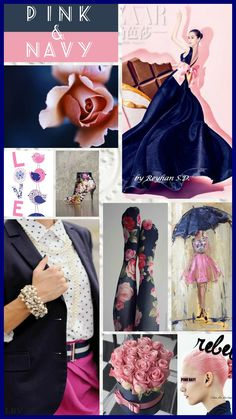 '' Pink & Navy '' by Reyhan S.D.