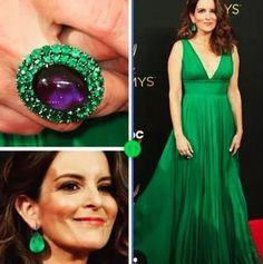 Tina Fey in @lorraineschwartz ring and earrings at the 2016 Emmy Awards. #purplebyanki #diamonds #luxury #loveit #jewelry #jewelrygram #jewelrydesigner #love #jewelrydesign #finejewelry #luxurylifestyle #instagood #follow #instadaily #lovely #me #beautiful #loveofmylife #dubai #ring#earrings #lorraineschwartz
