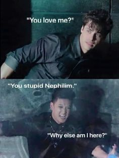 Malec. Waiting for this to happen lol