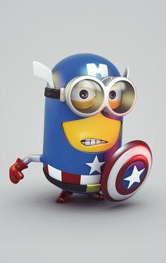 Captain Minion  by Wagner de Souza