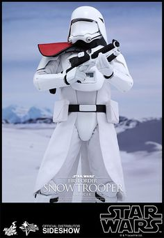 Star Wars First Order Snowtrooper Officer Sixth Scale Figure by Hot Toys