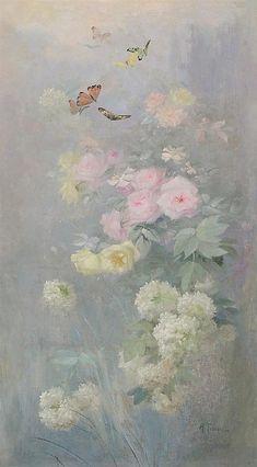 Angel Aesthetic, Flower Aesthetic, Aesthetic Art, Aesthetic Pastel Wallpaper, Aesthetic Wallpapers, Foto Gift, Fleurs Art Nouveau, Bel Art, Renaissance Kunst