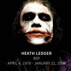 Cary's Comics Craze: R.I.P. Heath Ledger: The Joker actor died 7 ...