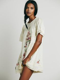 Free People Perfectly Victorian Mini, AU$218.56 lace inserts, pintucks, embroidery, what's not to like?