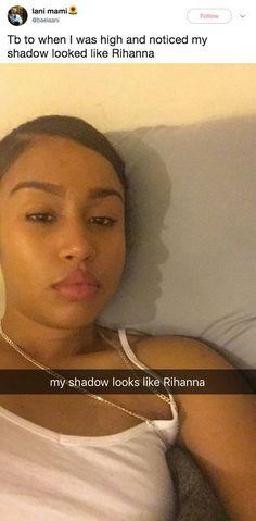The Rihanna lookalike: