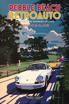 2013 Pebble Beach Poster